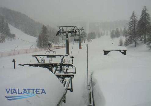 Antagnod, Italy - Weather to ski - Snow report, 28 December 2015