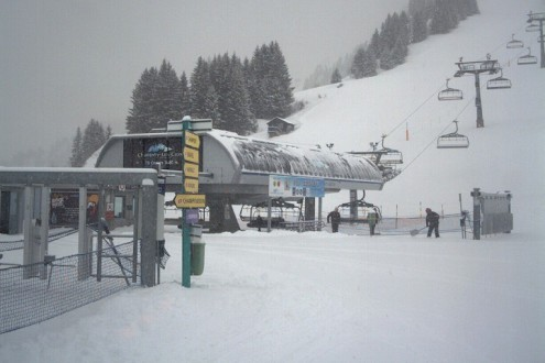 St Moritz, Switzerland - Weather to ski - Snow report, 28 December 2015