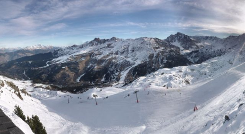 Méribel, France - Weather to ski - Today in the Alps, 29 December 2015