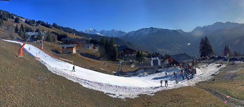 Les Saisies, France - Weather to ski - Today in the Alps, 30 December 2015