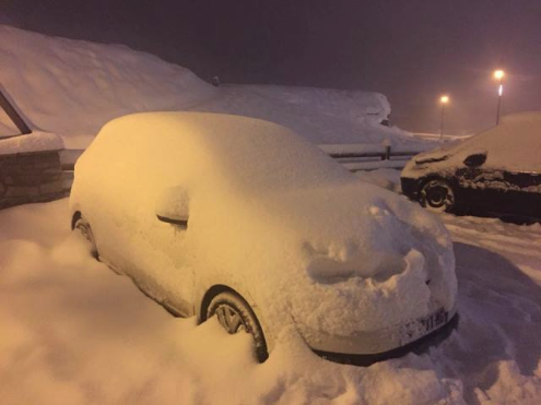 Val Thorens, France - Weather to ski - Today in the Alps, 3 January 2016