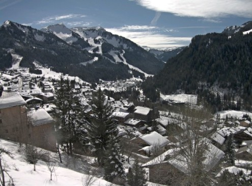 Les Contamines, France - Weather to ski - Snow report, 4 January 2016