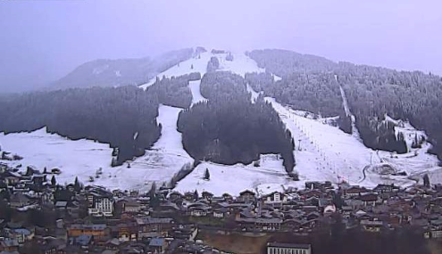 Morzine, France - Weather to ski - Today in the Alps, 5 January 2016