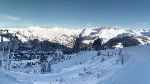 Les Arcs, France - Weather to ski - Today in the Alps, 6 January 2016