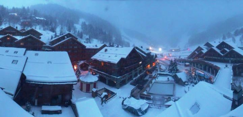 Méribel, France - Weather to ski - Today in the Alps, 7 January 2016