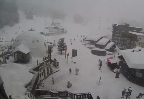 Val d'Isère, France - Weather to ski - Snow report, 11 January 2016