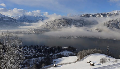 Zell-am-See, Austria - Weather to ski - Today in the Alps, 15 January 2016