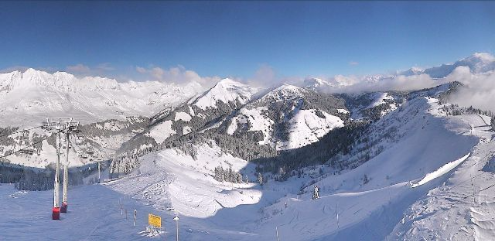 La Giettaz, France - Weather to ski - Today the Alps, 16 January 2016
