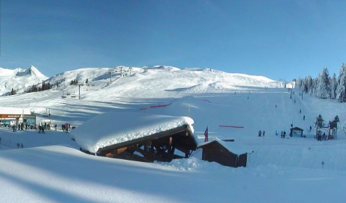 La Rosière, France - Weather to ski - Today in the Alps, 22 January 2016