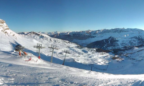 Vars, France - Weather to ski - Today in the Alps, 25 January 2016
