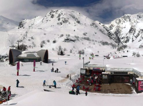 Baqueira Beret, Spain - Weather to ski - Snow report, 25 January 2016