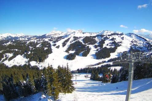 La Giettaz, France - Weather to ski - Snow report, 28 January 2016