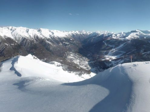 Val Thorens, France - Weather to ski - Snow report, 4 February 2016