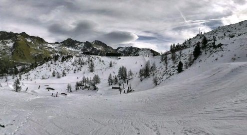 Isola 2000, France - Weather to ski - Today in the Alps, 6 February 2016