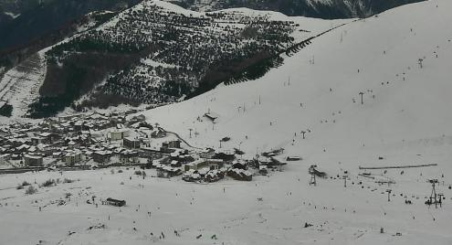 Auron, France - Weather to ski - Snow report, 8 February 2016