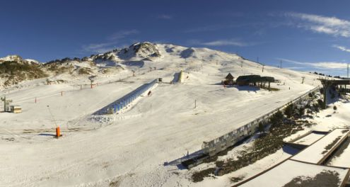 Peyragudes, French Pyrenees - Weather to ski - Snow report, 8 February 2016