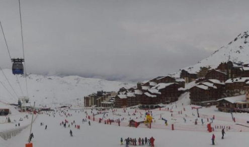 Val Thorens, France - Weather to ski - Snow report, 9 February 2016