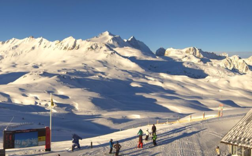 Val d'Isère, France - Weather to ski - Today in the Alps, 11 February 2016