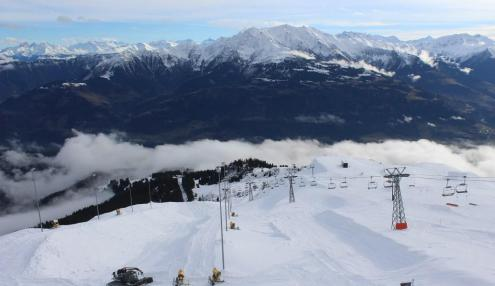 Scuol, Switzerland - Weather to ski - Snow report, 11 February 2016