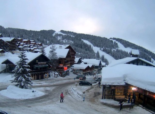 Les Saisies, France - Weather to ski - Today in the Alps, 12 February 2016