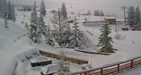 Méribel, France - Weather to ski - Today in the Alps, 13 February 2016