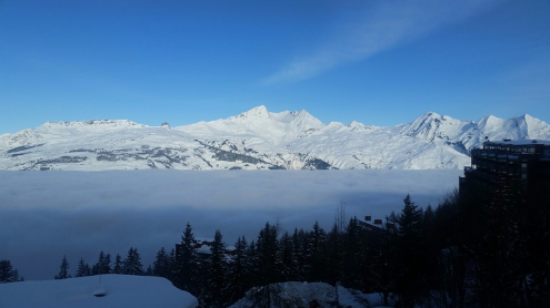 Les Arcs, France - Weather to ski - Today in the Alps, 17 February 2016