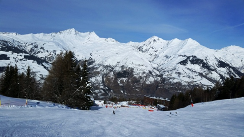 Arc 1600, France - Weather to ski - Today in the Alps, 18 February 2016