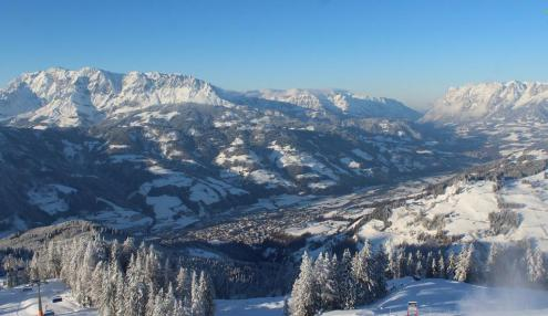 Les Arcs, France - Weather to ski - Snow report, 18 February 2016