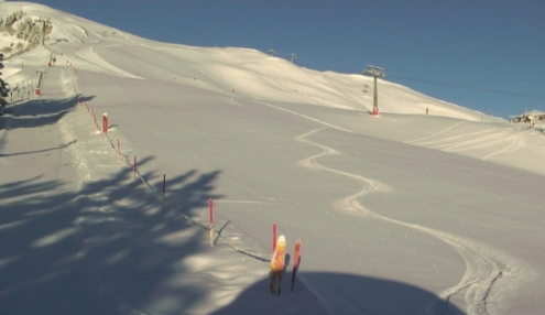 Golm, Austria - Weather to ski - Today in the Alps, 24 February 2016