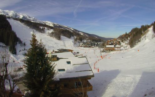 Les Saisies, France - Weather to ski - Snow report, 25 February 2016