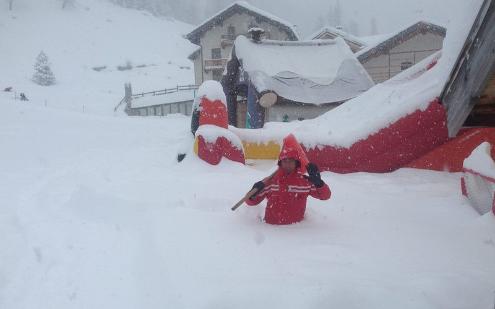 Monterosa Ski, Italy - Weather to ski - Today in the Alps, 28 February 2016