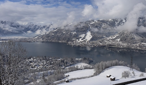 Zell-am-See, Austria - Weather to ski - Today in the Alps, 4 March 2016