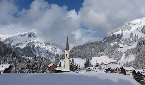 Schröcken, Austria - Weather to ski - Today in the Alps, 7 March 2016