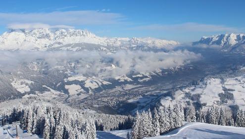 St Johann im Pongau, Austria - Weather to ski - Today in the Alps, 9 March 2016