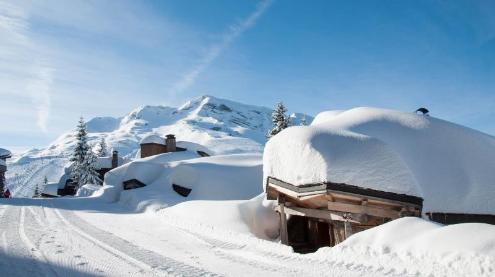 Avoriaz, France - Weather to ski - Season progress report, 10 March 2016