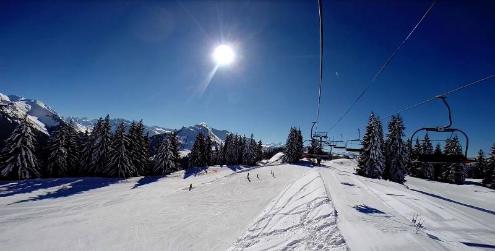 Morzine, France - Weather to ski - Season progress report, 10 March 2016