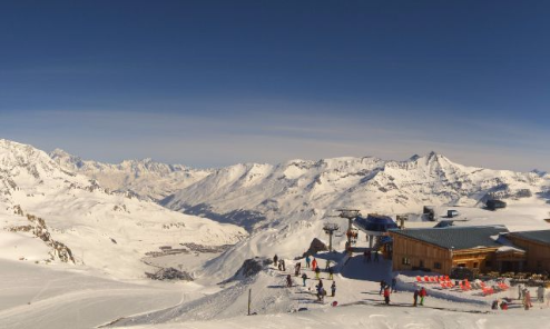 Tignes, France - Weather to ski - Today in the Alps, 15 March 2016