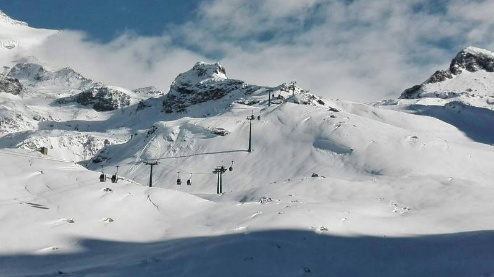 Monterosa Ski, Italy - Weather to ski - Today in the Alps, 17 March 2016