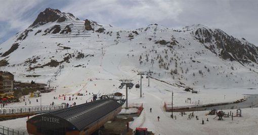 Tignes, France - Weather to ski - Snow report, 21 April 2016
