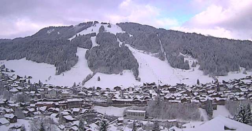 Morzine, France - Weather to ski - Today in the Alps, 25 April 2016