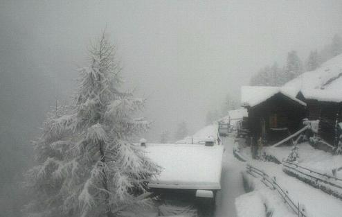 Zermatt, Switzerland - Weather to ski - Today in the Alps, 1 May 2016
