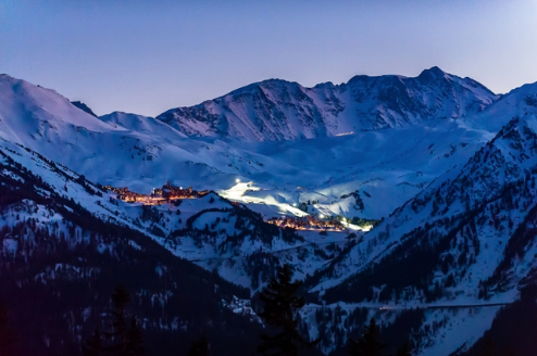 Arc 1950 and Arc 2000, France - Weather to ski - Our blog: How good is Les Arcs' snow record?