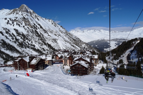 Arc 1950, France - Weather to ski - Our blog: How good is Les Arcs' snow record?