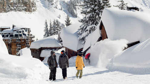 Avoriaz, France - Weather to ski - Who got the most snow in the Alps in 2015-16?