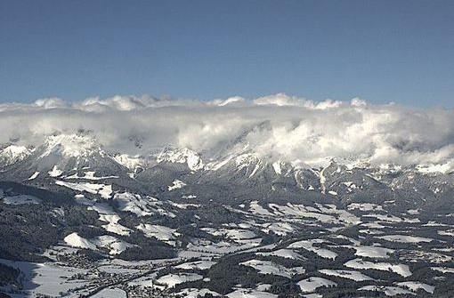 Kitzbühel, Austria - Late January 2015