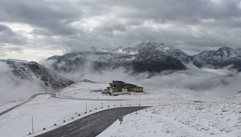 Grossglockner pass, Austria – Weather to ski – Today in the Alps, 8 October 2016