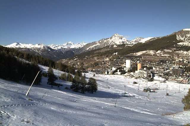 Sestriere, Italy – Weather to ski – Today in the Alps, 18 October 2016