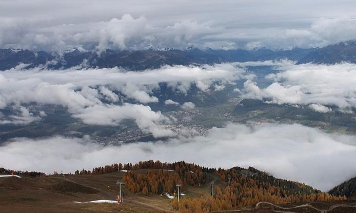 Kronplatz, Italy – Weather to ski – Today in the Alps, 26 October 2016