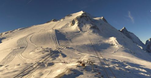 Tignes, France – Weather to ski – Today in the Alps, 29 October 2016