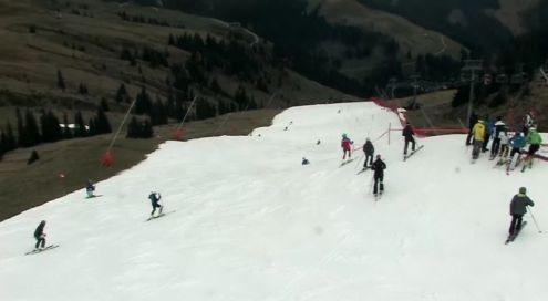 Kitzbühel, Austria – Weather to ski – Today in the Alps, 29 October 2016